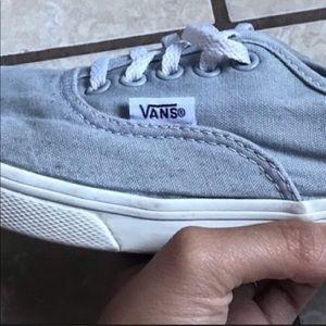 VANS gray 👟 sneakers